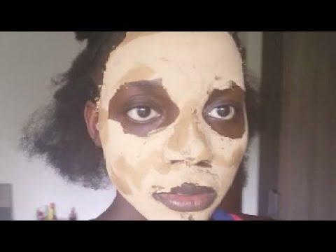 Les masques pour la personne le miel la crème fraîche