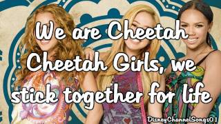 The Cheetah Girls - Cheetah Love With Lyrics