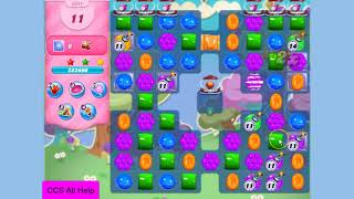 Candy Crush Saga Level 3341 22 moves NO BOOSTERS