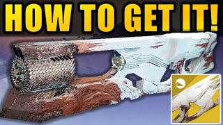 Destiny 2: How To Get The RUINOUS EFFIGY Exotic Trace Rifle! | Season Of Arrivals