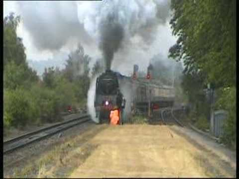 71000 'Duke of Gloucester' opens up at Bedminster hauling 'T…