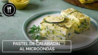 Cómo hacer un delicioso pastel de calabacín al microondas