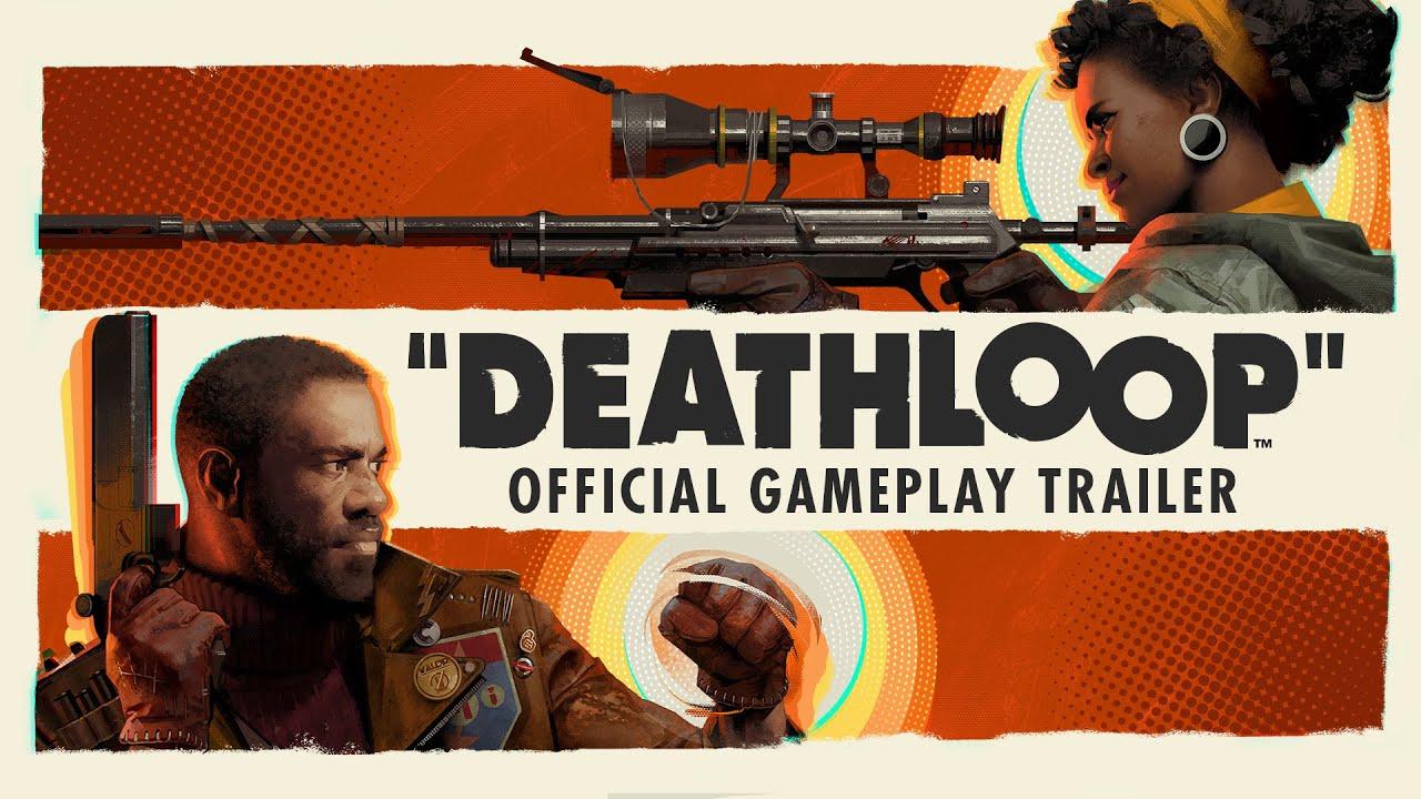 Геймплейный трейлер игры Deathloop