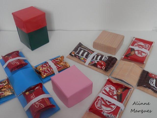 Caixa Explosiva De Chocolate Passo A Passo Alinne Marques