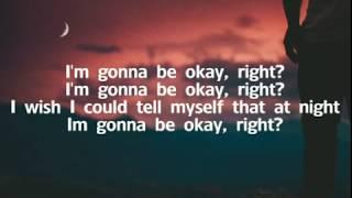 LANY & Julia Michaels   Okay (Lyrics)
