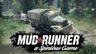 Spintires MudRunner (Смешные моменты | Лучшее | По сети)