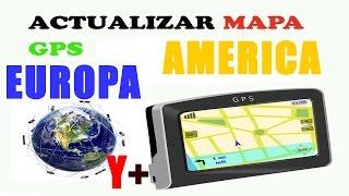 ACTUALIZAR MAPAS GPS GARMIN CUALQUIER MODELO ( MAPAS:Europa, América, Asia Y +Mapas)