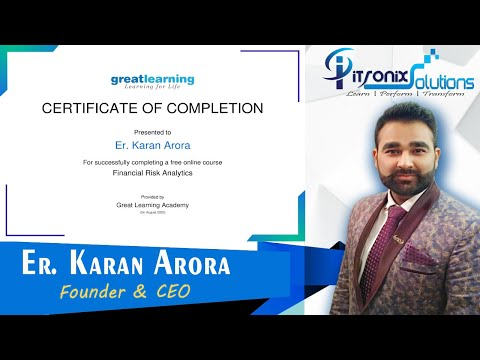 Finance Certification Courses - Financial Risk Analytics Free Online ...