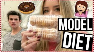 Download Youtube: Victoria's Secret Model Diet! VLOGMAS Day 5!