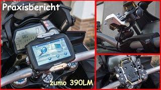 Praxisbericht Garmin Zumo 390LM mit Touratech Lenkerhalterung V3.0