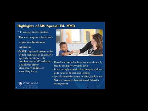 Special Education Virtual Webinar - YouTube