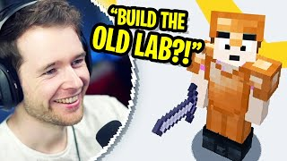 Building the OLD LAB! (Behind the Scenes)