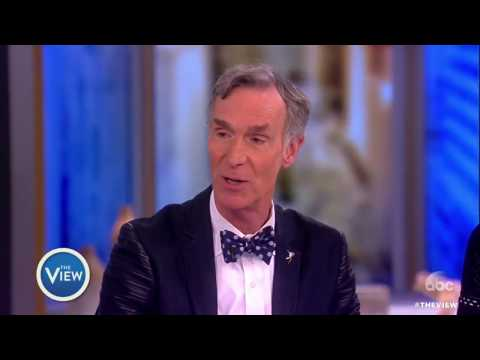 Bill Nye on Extraterrestrial Life, New Show 'Bill Nye Saves The World'   The View