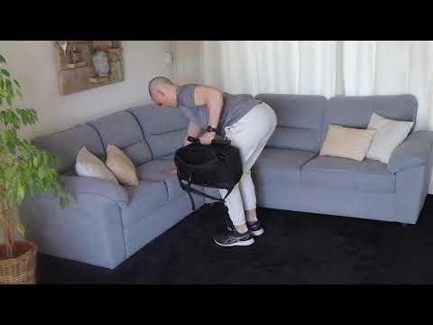 Single Arm Backpack Row