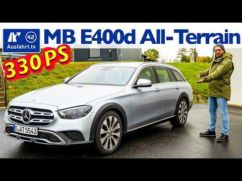 2020 Mercedes-Benz E 400 d All-Terrain (X213 MoPf) - Kaufberatung, Test deutsch, Review, Fahrbericht