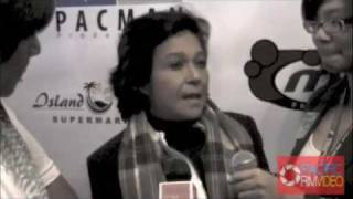 Nora Aunor at the Manny Pacquiao After Party Interview In Tagalog