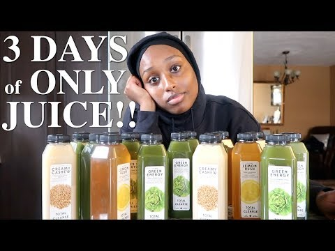 , title : 'I TRIED A JUICE CLEANSE FOR THREE DAYS AND... *SURPRISING RESULTS* | Aysha Abdul'