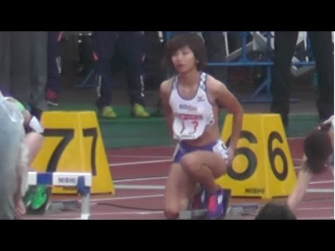 Women 100mH 決勝「木村文子、悲劇!」Final Japan National Athletics 第99回日本陸上競技選手権大会