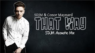 Lyrics: SDJM & Conor Maynard - That Way (SDJM Acoustic Mix)