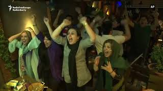 Iranian Fans Celebrate Victory In World Cup Opener
