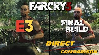 Far Cry 3 - E3 vs Retail | Direct Comparison  IMAGES, GIF, ANIMATED GIF, WALLPAPER, STICKER FOR WHATSAPP & FACEBOOK