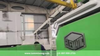 Công nghệ sản xuất tấm tường Acotec tại nhà máy bê tông Xuân Mai