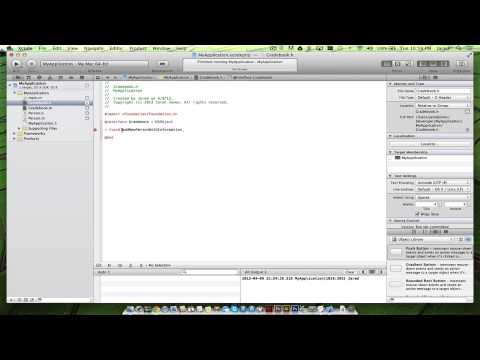 Learn Objective-C Mac/iOS Tut: 1 (For Experienced Programmers)