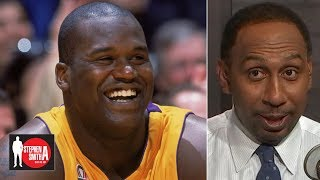 Shaq is the most dominant force in NBA history - Stephen A.   Stephen A. Smith Show