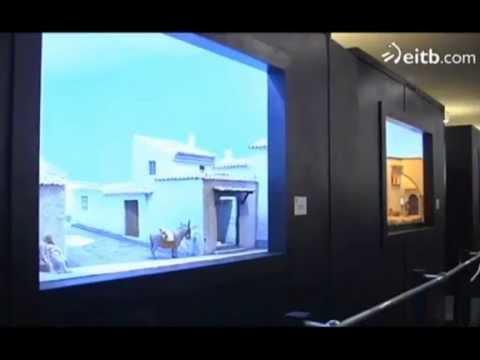 Inauguración exposición de belenes en Baluarte
