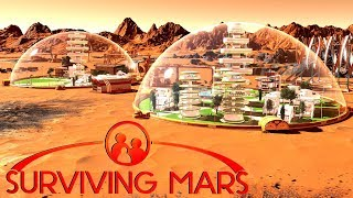 Surviving the Electrostatic Lightning Storm! - Ep. 4 - Surviving Mars Gameplay