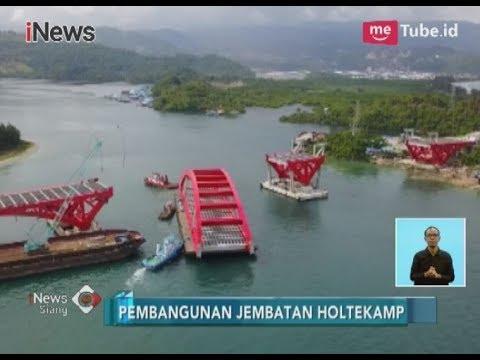 Tiba di Jayapura, Jembatan Megah Holtekamp yang Akan Segara Terwujud - iNews Siang 22/12