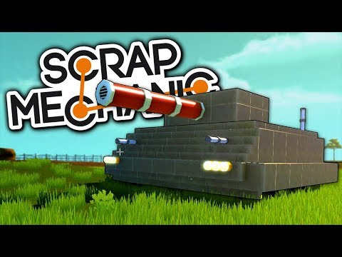 KDO MÁ LEPŠÍ TANK? - Scrap Mechanic! #9 w/Porty