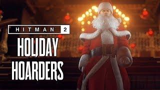 HITMAN 2 (2018) - Holiday Hoarders Trailer @ 1080p (60ᶠᵖˢ) ᴴᴰ ✔