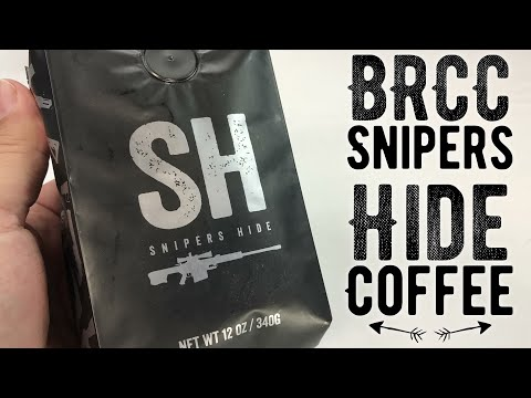 Snipers Hide Light Roast Coffee by Black Rifle Coffee Company Review