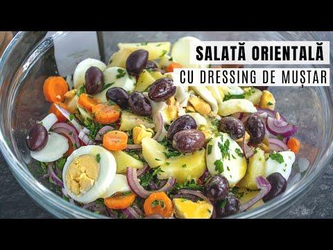 0 Salată de fasole verde cu sos de muștar