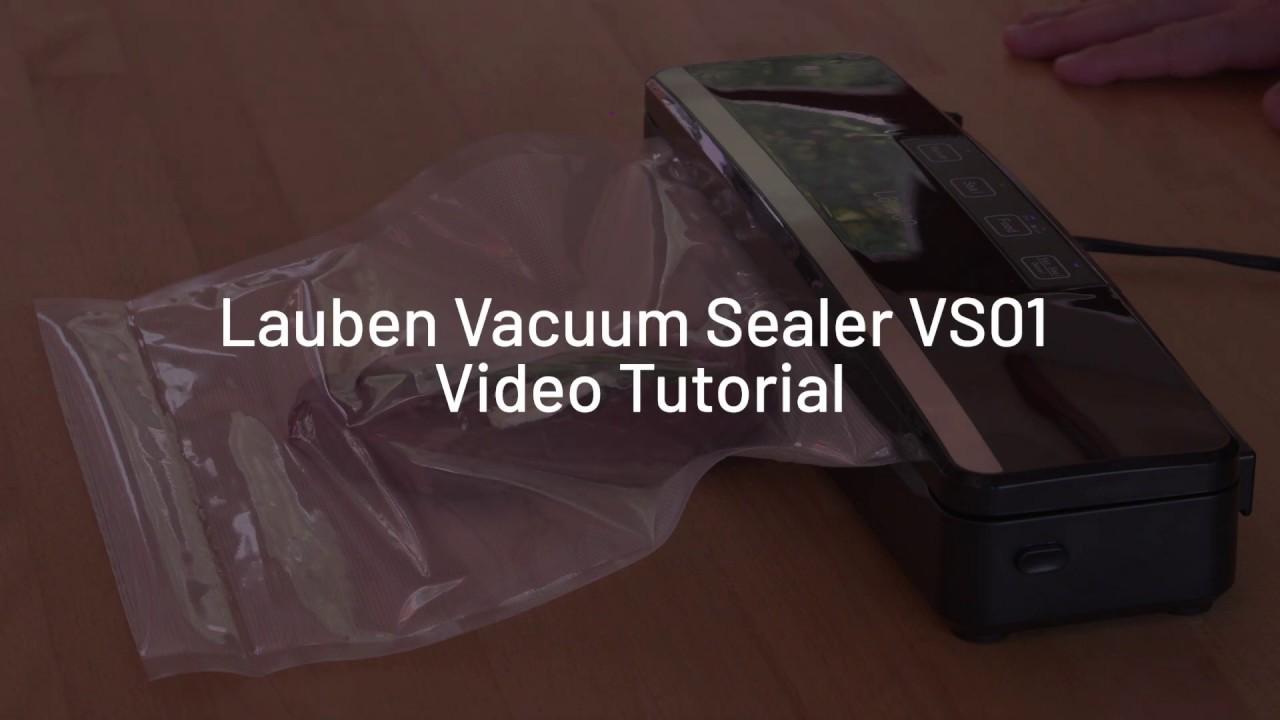 Video tutoriál: Jak vakuovat s Lauben Vacuum Sealer VS01