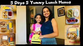 5 Days 5 Easy And Healthy Indian Kids Lunch Menu Part 1