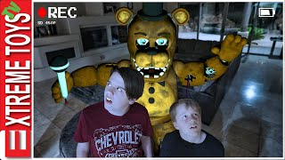 Freddy is in our House! Sneak Attack Squad Tries Five Nights At Freddy's!