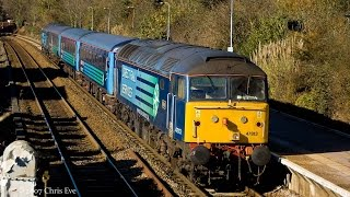 preview picture of video 'DRS 47813+47818 - 2P20 AGA Short Set 17/02/2015'