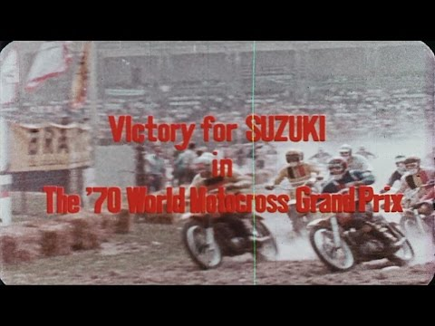VIDEO: Celebrating Suzuki's dominance in the 1970 250cc Motorcross Grand Prix