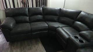 Tambo Pewter Reclining Sectional | Ashley's Furniture Collection | 2780148