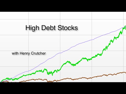 11.  Does the stock market like high debt stocks?