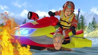 Feuerwehrmann Sam ⭐️ Sicherheit in tiefen Gewässern  🌊 Sicher mit Sam   Cartoons