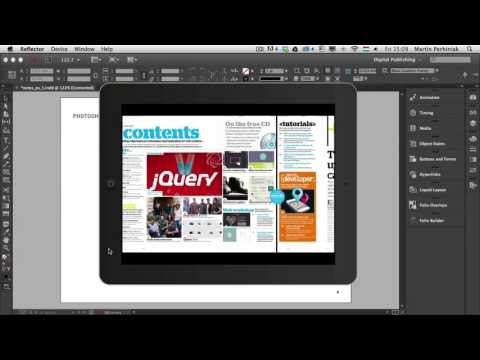 Digital Publishing With InDesign CC: Types of Interactive Documents