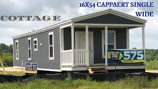Our Version Of A Tiny House | 16x54 Cottage Cappaert Single Wide | Mobile Home Masters