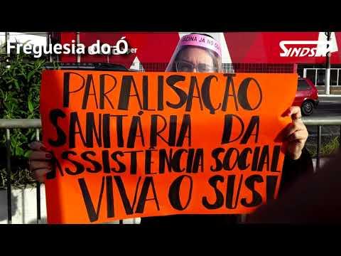 Trabalhadores/as do SUAS paralisam em protesto a condições indecentes na Assistência Social em SP