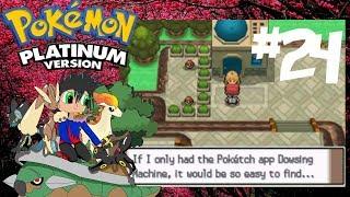 Pokemon Platinum EP 24: If Only We Had a Dowsing Machine