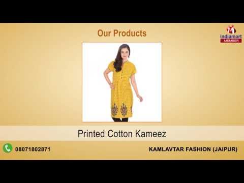 Cotton Kurtis and Designer Kurtis Manufacturer | Kamlavtar Fashion