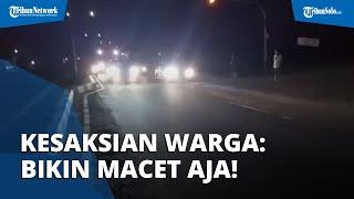 Detik-detik Warga Solo Bubarkan Aksi Diduga Balap Liar di Ring Road: Minggir, Iki Dudu Dalanmu Mas