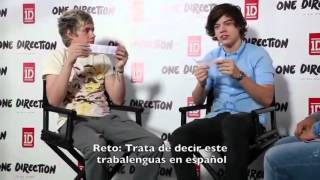 Niall Horan &  Harry Styles in Mexico (Magazine Interview )